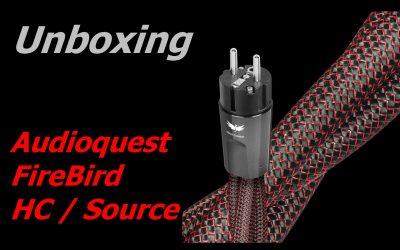 Unboxing Audioquest Firebird