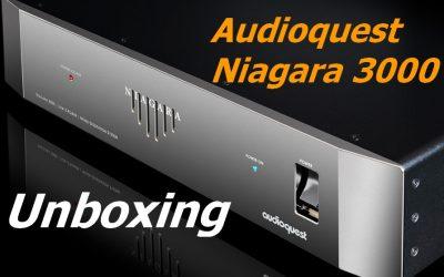 Unboxing Audioquest  Niagara 3000